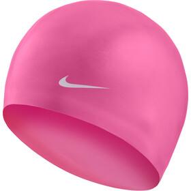Nike Swim Solid Siliconen Badmuts, roze